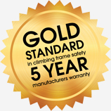 5 year manufacturers warranty
